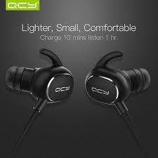 aliexpress qcy qcy ipx4 sweatproof headphones bluetooth v4 1 wireless sports