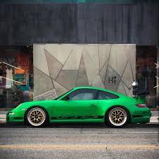 porsche 911 mods mods on this viper green 997 gt3 rs cr ara la cult911