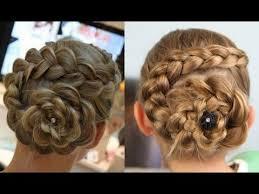 cute girl hairstyles diy flower braid tutorial sooooo cute cute girls hairstyles videos