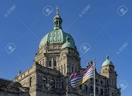 Flag British Columbia British Columbia Parliament Building Bc Flag Victoria Bc Canada
