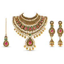 indian bridal necklace images Indian bridal jewelry sets png