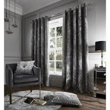 Grey And Silver Curtains Grey Living Room Curtains Home Safe