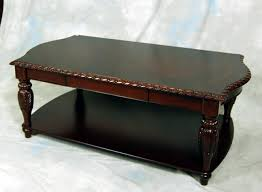 antique round mahogany coffee table home tables made in vi thippo
