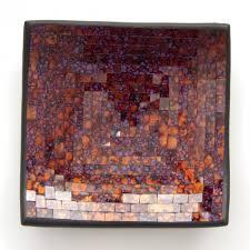 badezimmer spiegelschrã nke die balinesischen teller mit glasmosaiken