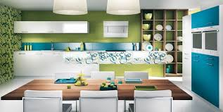 cuisine blanche et bleue cuisine grise et bleu canard photos de design d intérieur et