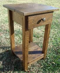 rustic wood side table reclaimed wood side table small side table rustic wood handmade table