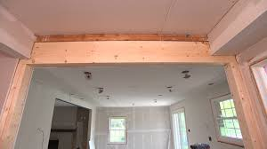 How To Remove Load Bearing Interior Wall Load Bearing Wall Removal K H Davis Engineering Consultants Ltd