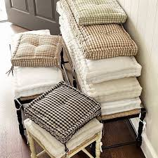 tufted french floor cushions rh puderum pinterest
