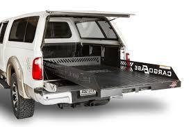 nissan titan bed rack cargo ease titan series heavy duty cargo slide