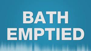 bath emptied sound effect bath sound drain sink badewanne wasser