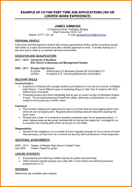 resume for part time job high student resume for part time job high student unique exle sle