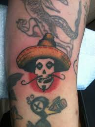 nothing says punk rock like a mexican misfits tattoo phil at