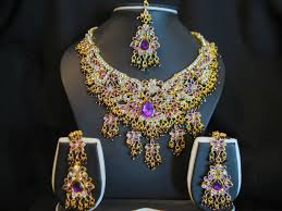 bridal gold sets artistic bridal gold jewellery indian jewelry thecolorbars