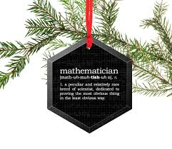 definition of chemistry glass tree ornament