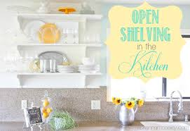 open shelving in the kitchen finally ask anna