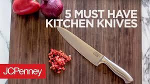 must kitchen knives 5 must kitchen knives jcpenney kitchen essentials