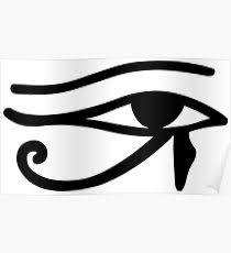 eye horus posters redbubble
