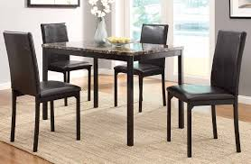 counter dining chairs tempe 5pc counter dining set buy online at best price sohomod