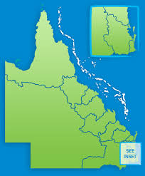 map of queensland queensland maps queensland australia