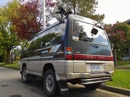 van mitsubishi delica seattle u0027s parked cars 1991 mitsubishi delica star wagon chamonix