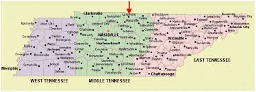 Time Zone Map Tennessee by Tennessee Time Zone Map By City My Blog
