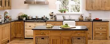 oak kitchen furniture freestanding kitchens oak free standing kitchens