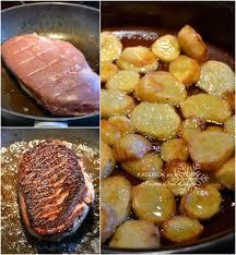 cuisiner magret de canard poele cuisson magret de canard poêle pommes terre graisse de canard