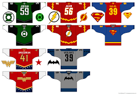 eishockey trikot designer the flash dave s geeky hockey