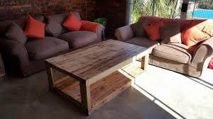 handmade wood coffee table pallets wood coffee table 101 pallets