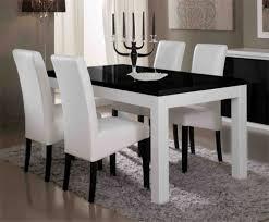 cuisine blanc et noir best table de cuisine noir gallery amazing house design