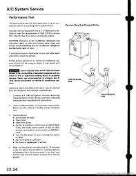 charging honda civic 1999 6 g workshop manual