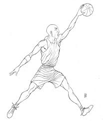 michael jordan coloring pages lezardufeu com