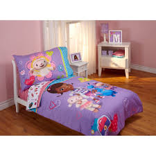 girls mermaid bedding disney doc mcstuffins good as new 4 piece toddler bedding set