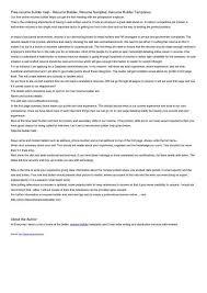 got resume builder career resume builder docs resume template free health