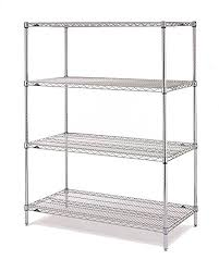 amazon com metro n356br shelving rack with 4 super erecta wire
