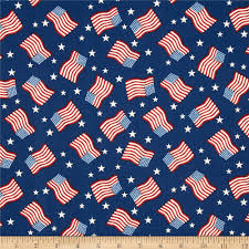 Blue White And Red Flags Stars Stripes Ii Tossed Flags Stars Red White Blue Discount