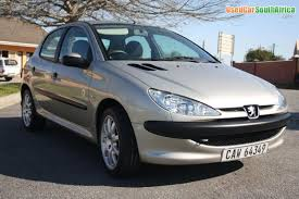 peugeot south africa 2005 peugeot 206 1 4i popart used car for sale in south africa