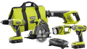 home depot black friday deals riobi tools deal ryobi 18v 4 tool combo kit for 139
