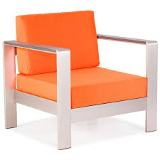 Outdoor Lounge Furniture Mod Aluminum Outdoor Lounge Set U2014 4 Pieces Scenario Home