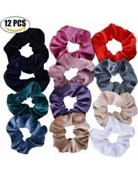 bobbles hair shopping special coxeer hair scrunchies set no damage