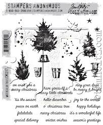 anonymous tim holtz cling mounted rubber st set