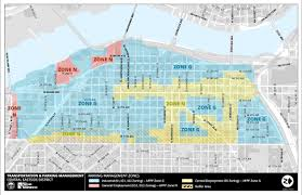 Portland Public Transportation Map by Central Eastside Parking Program The City Of Portland Oregon
