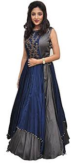 dress pic mr fashion women s taffeta silk anarkali gown dress material