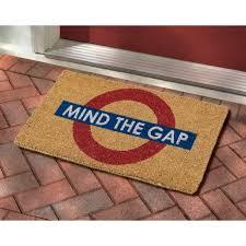 Holiday Doormat Mind The Gap Doormat Bbc Shop
