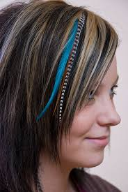 hair feathers a feather hair style to get a exclusive look yishifashion