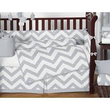 Chevron Bedding Queen Sweet Jojo Designs Gray And White Chevron Collection 9pc Crib