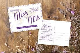 travel themed bridal shower postcard wedding shower invitations yourweek ebf0daeca25e