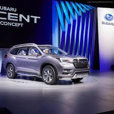 Wallpaper Subaru Ascent Concept 2017 New York Auto Show Cars