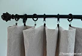 21 rosemary lane no sew drop cloth drapes they really do work