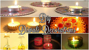 Home Decoration Ideas For Diwali 6 Diy Diwali Decoration Ideas 2016 Easy U0026 Unique Youtube